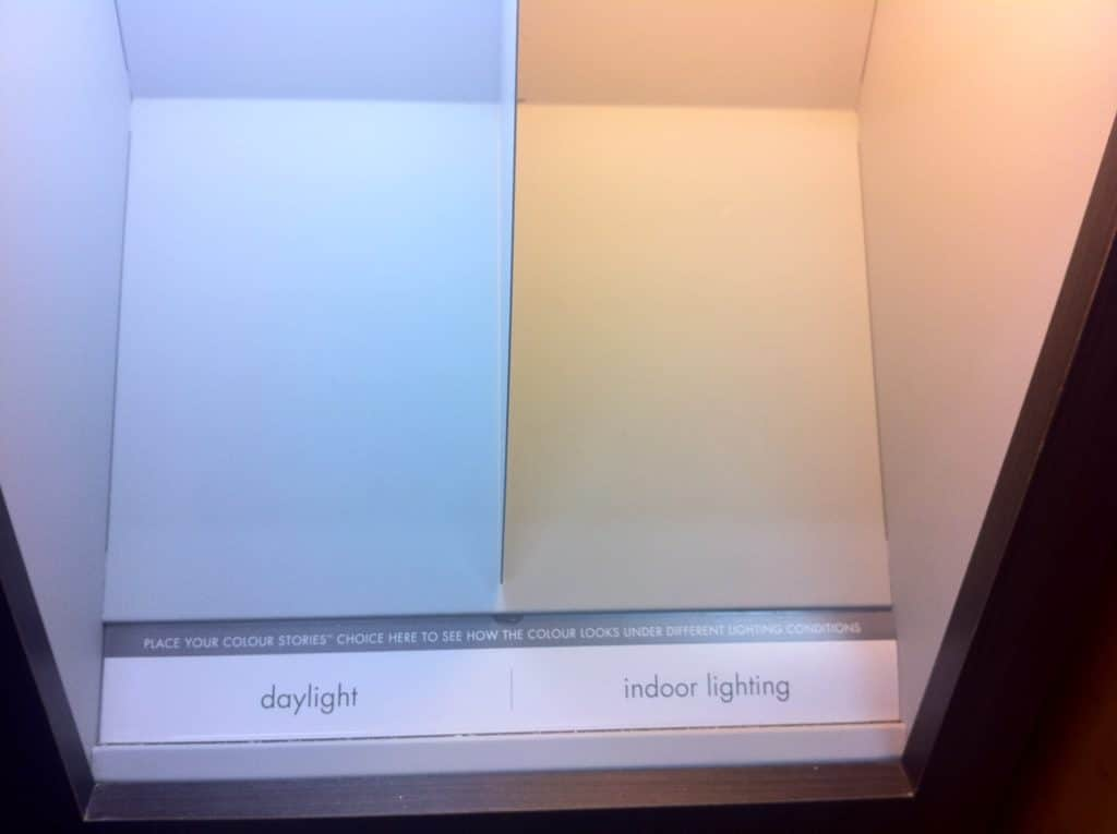 Pick Wall Paint Colors With Good Light