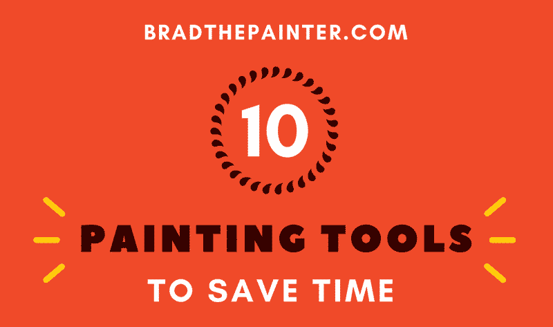 painting tools infographic by brad the painter