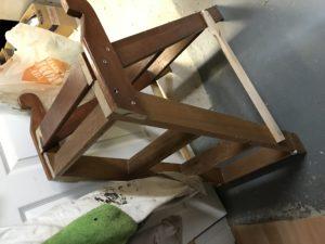 Homemade ladder