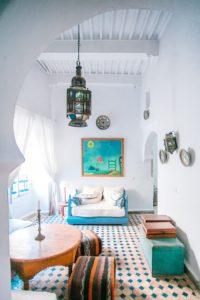 Living room freshly painted
