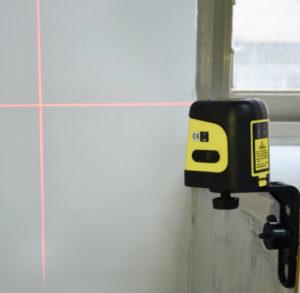 Coolest tool - laser leveler