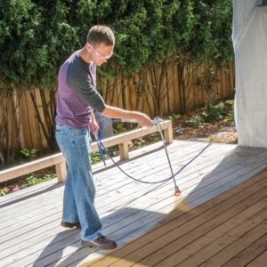 How To Stain A Deck Quickly The Right Way Brad Painter