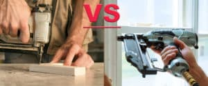 choose between brad nailer and finish nailer