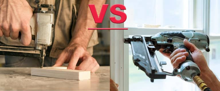 choose between brad nailer and finish nailer