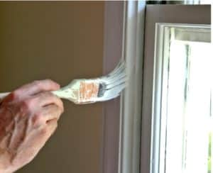 Painting Stained Trim