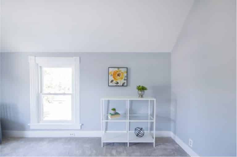room painted with the best paint for trim