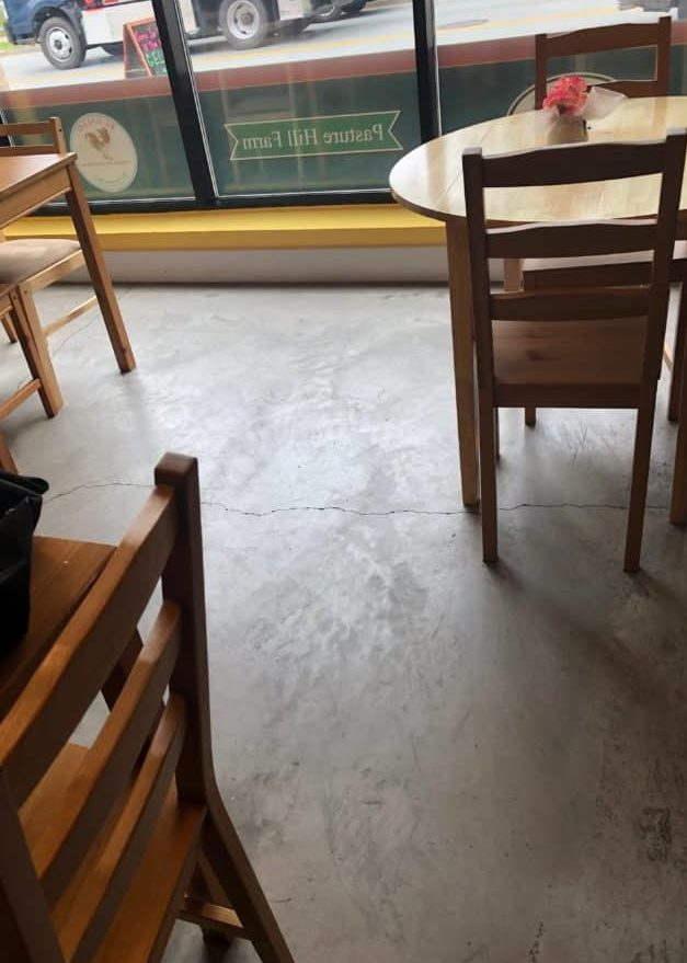 Concrete Etching Acid Wash Or Grinding In Prep For Painting And