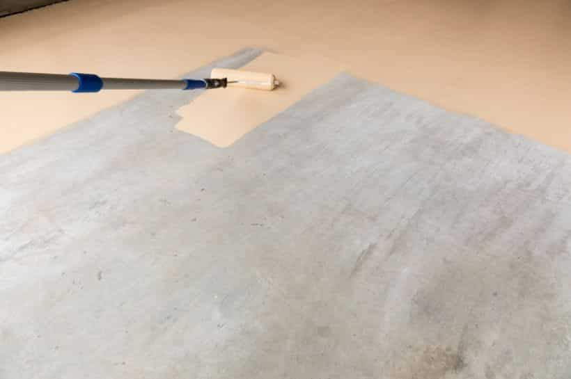 Painting Concrete Floor