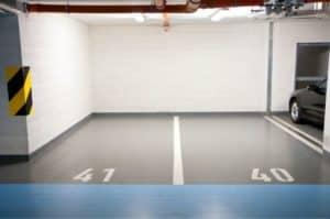 Garage Floor Painted