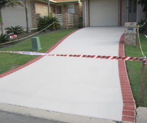 Perfect driveway paint