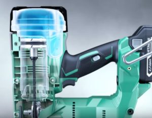 Electric Nail Gun: Internal workings of an electric nailer by Hitachi