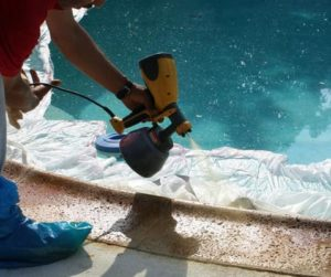 Using an HVLP sprayer for concrete sealer